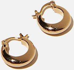Rubi - Premium Everyday Hoop - Gold plated small