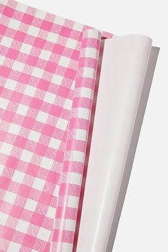 Typo - Roll Wrapping Paper - Pink gingham