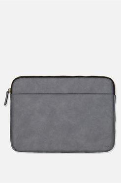 Typo - Core Laptop Cover 13 Inch - Welsh slate