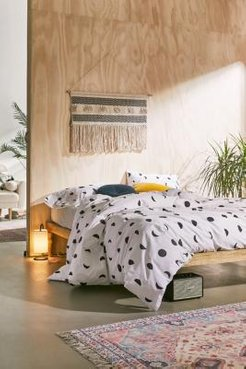Moon Phase Duvet Cover Set - black KING at Urban Outfitters