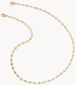Gold-Tone Circle Disk Face Mask And Eyewear Chain  FCU0379710