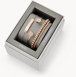 Rose Gold-Tone Steel Bracelet Gift Set jewelry JGFTSET1043