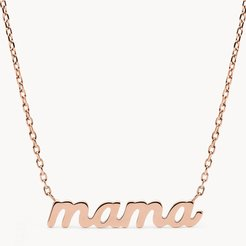 Rose Gold-Tone Stainless Steel Pendant Necklace  JOF00668791