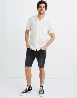 Linen Easy Camp Shirt in Setting Suns