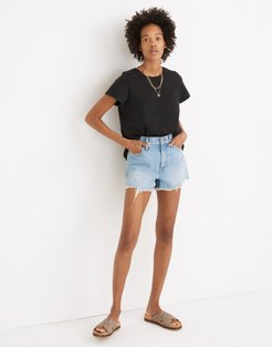 The Perfect Jean Short in Hedrick Wash