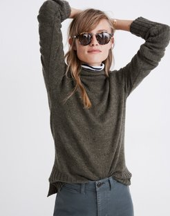 Donegal Inland Turtleneck Sweater in Coziest Yarn