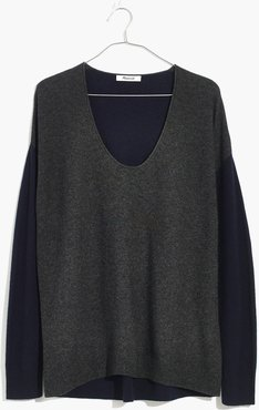 Kimball Pullover Sweater in Colorblock
