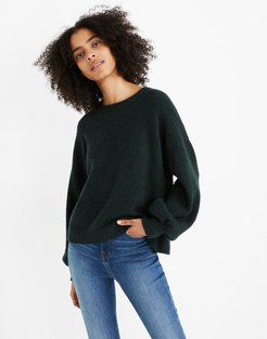 Gladwell Balloon-Sleeve Pullover Sweater