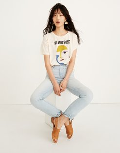 Headstrong Graphic Whisper Cotton Crewneck Tee