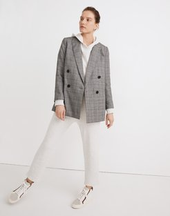 Caldwell Double-Breasted Blazer: Peaked Lapel Edition
