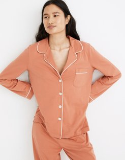 Knit Bedtime Long-Sleeve Pajama Top