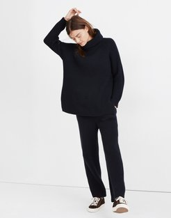 Maitland Ribbed Drawstring Sweater Pants