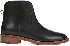 Baxter Leather Ankle Boots - Black - Size 12
