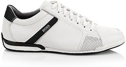 Saturn Leather Low-Top Sneakers - White - Size 44 (11)