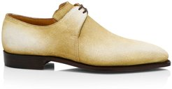 Arca Pullman Cappucchino Patina Suede Lace-Up Brogue Shoes - Cappuccino - Size 8.5