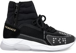 High Top Cross Trainer Sneakers - Black - Size 42 (9)
