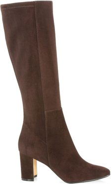 Pita Tall Suede Boots - Brown - Size 6