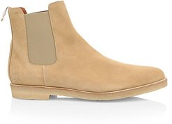 Suede Chelsea Boots - Tan - Size 42 (9)