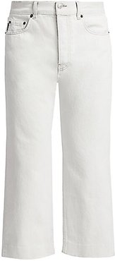 Wide-Leg Jeans - Cement - Size 33
