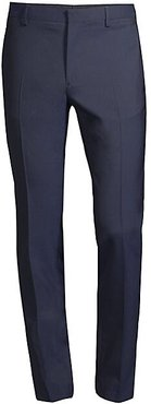 Wool Suit Trousers - Dark Navy - Size 52 (36)