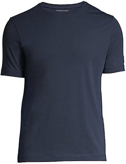 Solid Stretch T-Shirt - Navy - Size 50 (40)