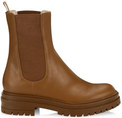 Chester Leather Chelsea Boots - Tan - Size 10