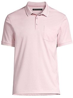 Cambridge Cotton Polo - Lilac Mist - Size XXL