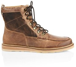 Uprange Lace-Up Leather Boots - Tan - Size 11