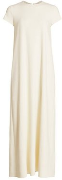 Tori Maxi Shift Dress - Off White - Size Large