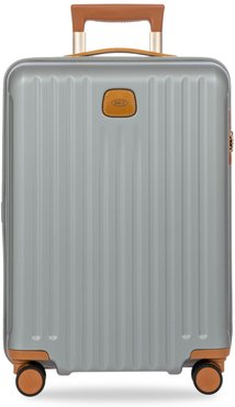 Capri 21-Inch Spinner Expandable Luggage - Silver