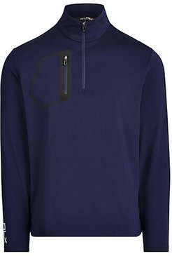 Brushed Technical Jersey Shirt - French Navy - Size XXL