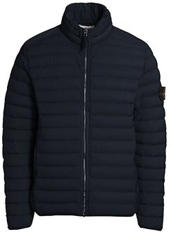 Chambers Loom Quilted Jacket - Blue Marine - Size Small