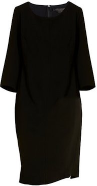 Destino Sheath Dress - Black - Size 16 W