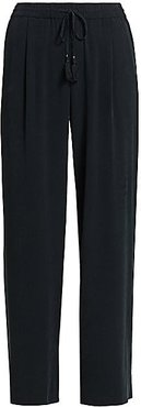 Solynne Wide-Leg Pants - Black - Size XL