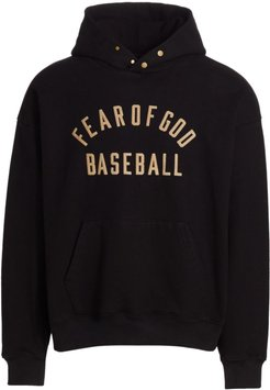 Baseball Hoodie - Black - Size Medium
