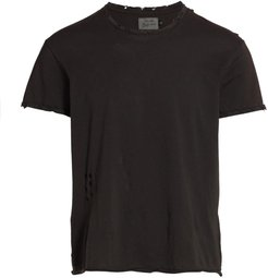 Destroyed T-Shirt - Olive Tweed - Size XS