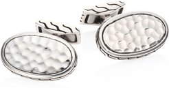 Classic Chain Collection Sterling Silver Cuff Links