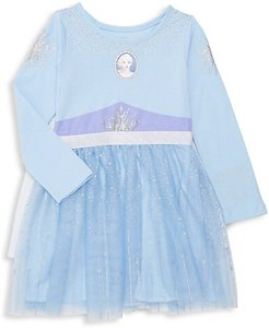 Little Girl's Disney's Frozen 2 Caped Dress