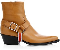 Tex Harness Leather Ankle Boots