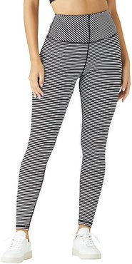 Striped Active Leggings