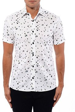 Multicolor Dot Short-Sleeve Shirt