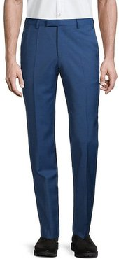 Simmons Regular-Fit Wool Trousers