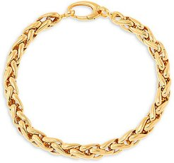14K Yellow Gold Spiga Bracelet