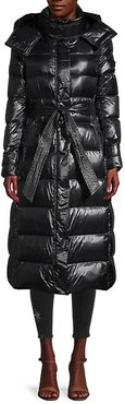 Belted Down Puffer Coat
