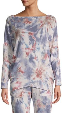 Tie-Dyed Pullover Sweater