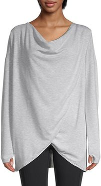 Twist Front Layering Top
