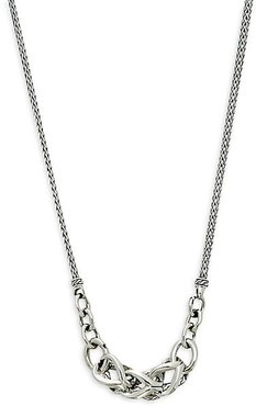 Asli Classic Chain Sterling Silver Link Necklace