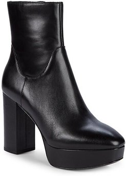Amazon Leather Platform Booties