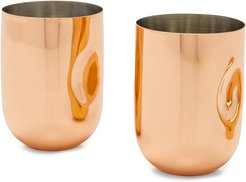 Plum Moscow Mule Cups Set