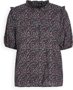 Iris Ditsy Floral Top